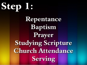 12. Intentional Discipleship 3 - Step 1