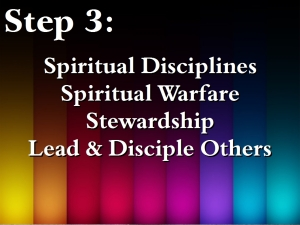 12. Intentional Discipleship 3 - Step 3