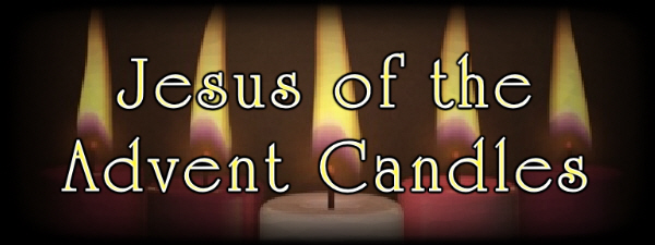 Jesus Advent Candles