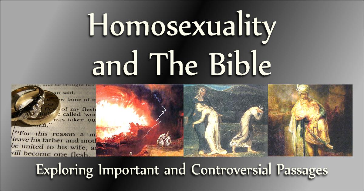 Homosexual passages new testament