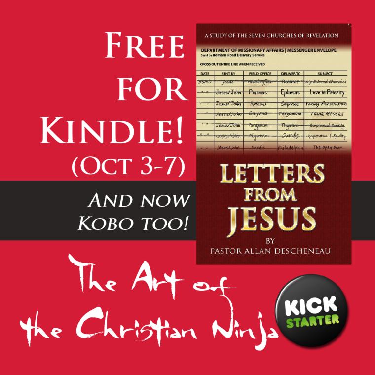 Letters from JEsus Kickstarter AOTCN KOBO