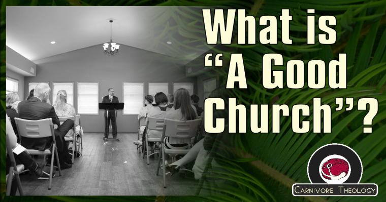 A Good Church