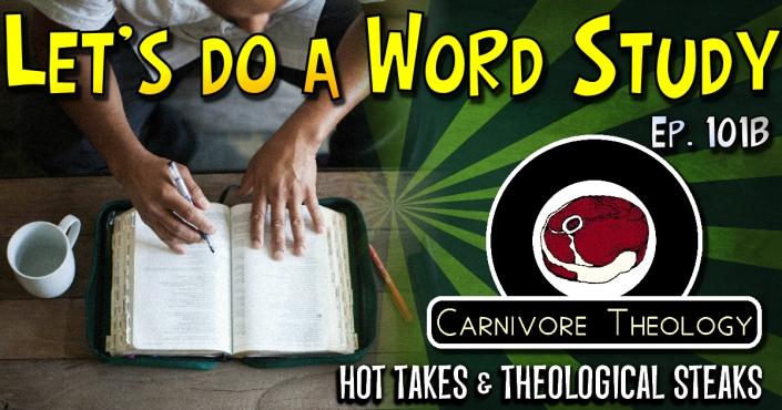 101B - Word Studies